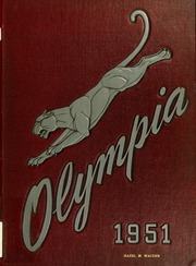 1951 Edition, Panzer College - Olympia Yearbook (East Orange, NJ)