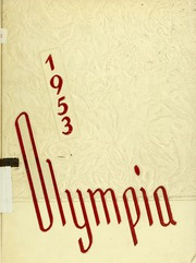 1953 Edition, Panzer College - Olympia Yearbook (East Orange, NJ)