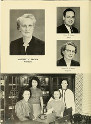 Page 8, 1956 Edition, Panzer College - Olympia Yearbook (East Orange, NJ) online yearbook collection