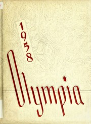 1958 Edition, Panzer College - Olympia Yearbook (East Orange, NJ)
