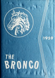 Page 1, 1959 Edition, Fayetteville State University - Fayettevillian Bronco Yearbook (Fayetteville, NC) online yearbook collection