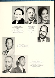 Page 17, 1959 Edition, Fayetteville State University - Fayettevillian Bronco Yearbook (Fayetteville, NC) online yearbook collection