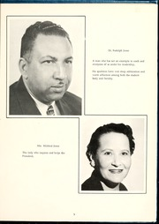Page 9, 1959 Edition, Fayetteville State University - Fayettevillian Bronco Yearbook (Fayetteville, NC) online yearbook collection