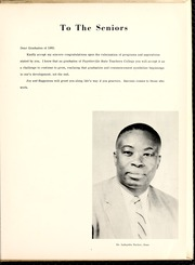 Page 11, 1961 Edition, Fayetteville State University - Fayettevillian Bronco Yearbook (Fayetteville, NC) online yearbook collection
