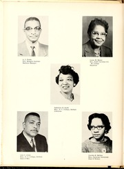 Page 12, 1961 Edition, Fayetteville State University - Fayettevillian Bronco Yearbook (Fayetteville, NC) online yearbook collection