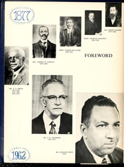 Page 8, 1962 Edition, Fayetteville State University - Fayettevillian Bronco Yearbook (Fayetteville, NC) online yearbook collection