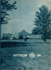 Fayetteville State University - Fayettevillian Bronco Yearbook (Fayetteville, NC) online yearbook collection, 1964 Edition, Page 1