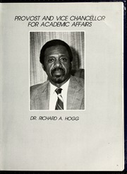 Page 17, 1982 Edition, Fayetteville State University - Fayettevillian Bronco Yearbook (Fayetteville, NC) online yearbook collection