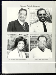 Page 16, 1986 Edition, Fayetteville State University - Fayettevillian Bronco Yearbook (Fayetteville, NC) online yearbook collection