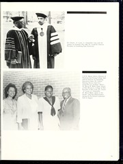 Page 17, 1986 Edition, Fayetteville State University - Fayettevillian Bronco Yearbook (Fayetteville, NC) online yearbook collection