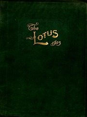 Page 1, 1903 Edition, Peace College - Lotus Yearbook (Raleigh, NC) online yearbook collection
