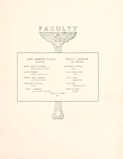 Page 15, 1903 Edition, Peace College - Lotus Yearbook (Raleigh, NC) online yearbook collection