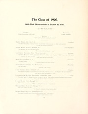 Page 16, 1903 Edition, Peace College - Lotus Yearbook (Raleigh, NC) online yearbook collection