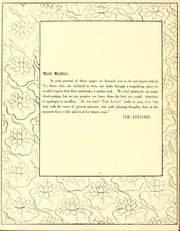 Page 10, 1909 Edition, Peace College - Lotus Yearbook (Raleigh, NC) online yearbook collection