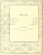 Page 14, 1909 Edition, Peace College - Lotus Yearbook (Raleigh, NC) online yearbook collection