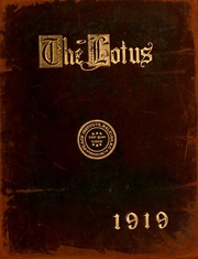 Peace College - Lotus Yearbook (Raleigh, NC) online yearbook collection, 1919 Edition, Page 1