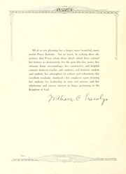 Page 8, 1927 Edition, Peace College - Lotus Yearbook (Raleigh, NC) online yearbook collection