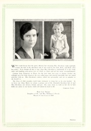 Page 17, 1934 Edition, Peace College - Lotus Yearbook (Raleigh, NC) online yearbook collection