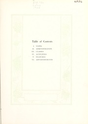 Page 7, 1934 Edition, Peace College - Lotus Yearbook (Raleigh, NC) online yearbook collection