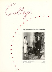 Page 11, 1938 Edition, Peace College - Lotus Yearbook (Raleigh, NC) online yearbook collection