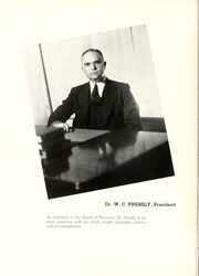 Page 14, 1938 Edition, Peace College - Lotus Yearbook (Raleigh, NC) online yearbook collection