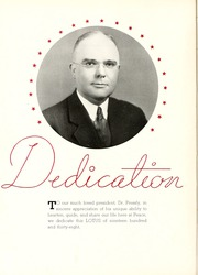 Page 8, 1938 Edition, Peace College - Lotus Yearbook (Raleigh, NC) online yearbook collection