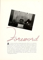 Page 9, 1938 Edition, Peace College - Lotus Yearbook (Raleigh, NC) online yearbook collection