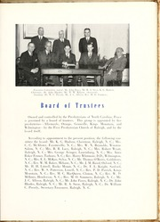 Page 15, 1944 Edition, Peace College - Lotus Yearbook (Raleigh, NC) online yearbook collection