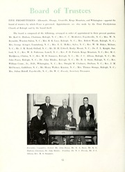 Page 16, 1946 Edition, Peace College - Lotus Yearbook (Raleigh, NC) online yearbook collection