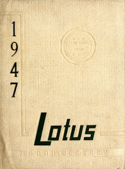 1947 Edition, Peace College - Lotus Yearbook (Raleigh, NC)