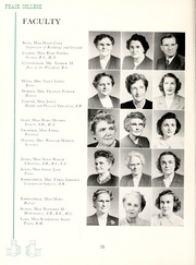 Page 16, 1949 Edition, Peace College - Lotus Yearbook (Raleigh, NC) online yearbook collection