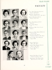 Page 17, 1949 Edition, Peace College - Lotus Yearbook (Raleigh, NC) online yearbook collection