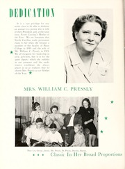Page 8, 1949 Edition, Peace College - Lotus Yearbook (Raleigh, NC) online yearbook collection