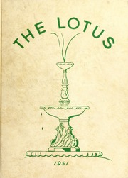 1951 Edition, Peace College - Lotus Yearbook (Raleigh, NC)