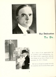 Page 10, 1951 Edition, Peace College - Lotus Yearbook (Raleigh, NC) online yearbook collection