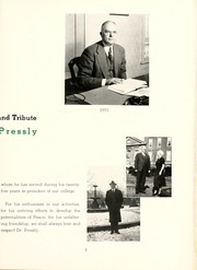 Page 11, 1951 Edition, Peace College - Lotus Yearbook (Raleigh, NC) online yearbook collection