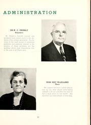 Page 15, 1951 Edition, Peace College - Lotus Yearbook (Raleigh, NC) online yearbook collection
