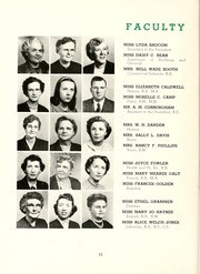 Page 16, 1951 Edition, Peace College - Lotus Yearbook (Raleigh, NC) online yearbook collection
