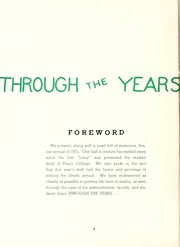 Page 8, 1951 Edition, Peace College - Lotus Yearbook (Raleigh, NC) online yearbook collection
