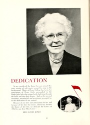 Page 10, 1953 Edition, Peace College - Lotus Yearbook (Raleigh, NC) online yearbook collection
