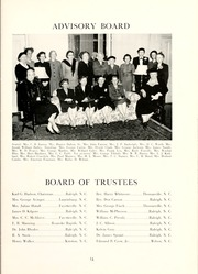 Page 15, 1953 Edition, Peace College - Lotus Yearbook (Raleigh, NC) online yearbook collection