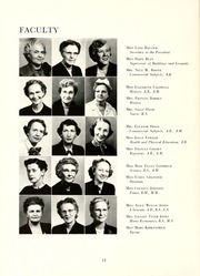 Page 16, 1953 Edition, Peace College - Lotus Yearbook (Raleigh, NC) online yearbook collection