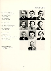 Page 17, 1953 Edition, Peace College - Lotus Yearbook (Raleigh, NC) online yearbook collection