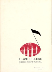 Page 5, 1953 Edition, Peace College - Lotus Yearbook (Raleigh, NC) online yearbook collection