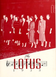 Page 7, 1953 Edition, Peace College - Lotus Yearbook (Raleigh, NC) online yearbook collection
