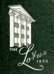1955 Edition, Peace College - Lotus Yearbook (Raleigh, NC)