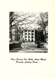 Page 10, 1956 Edition, Peace College - Lotus Yearbook (Raleigh, NC) online yearbook collection