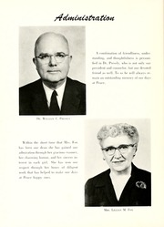 Page 12, 1956 Edition, Peace College - Lotus Yearbook (Raleigh, NC) online yearbook collection