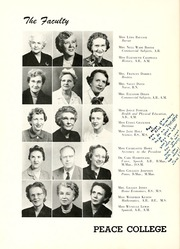 Page 14, 1956 Edition, Peace College - Lotus Yearbook (Raleigh, NC) online yearbook collection