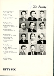 Page 15, 1956 Edition, Peace College - Lotus Yearbook (Raleigh, NC) online yearbook collection